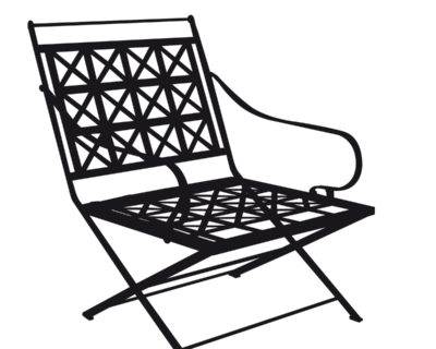 Fauteuil terrasse Consulat